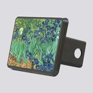 Irises, 1889 by Vincent Va Rectangular Hitch Cover