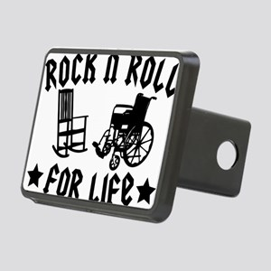 rock n roll Rectangular Hitch Cover