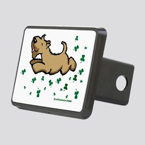 SCWTshamrockjump Rectangular Hitch Cover
