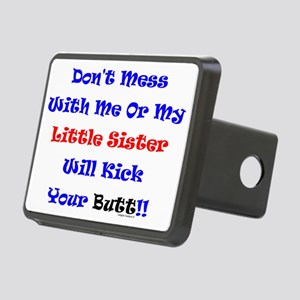LittleSisKickYours Rectangular Hitch Cover