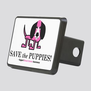 Save the Puppies Rectangular Hitch Coverle)