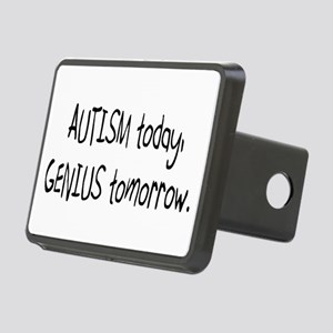Autism Today Genius Tomorrow Rectangular Hitch Cov
