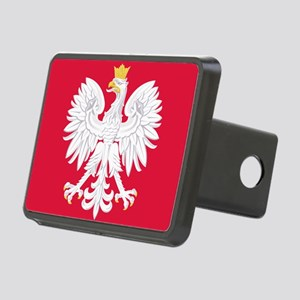 Poland Coat of Arms Rectangular Hitch Cover