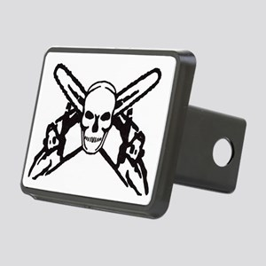 skull-saw Rectangular Hitch Cover
