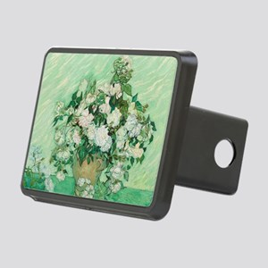 Vincent Van Gogh - Roses Rectangular Hitch Cover