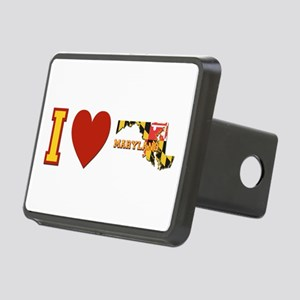 I Love Maryland Rectangular Hitch Cover