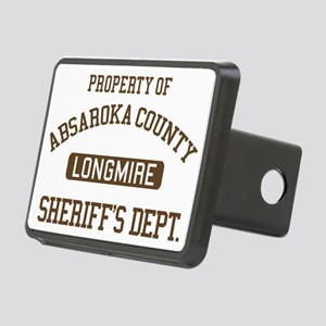 Property Of Absaroka Count Rectangular Hitch Cover