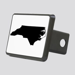 Black Rectangular Hitch Cover