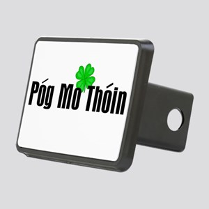 Pog Mo Thoin Text Rectangular Hitch Cover