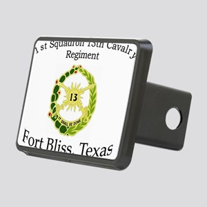 1st Squadron 13th Cav Rectangular Hitch Cover