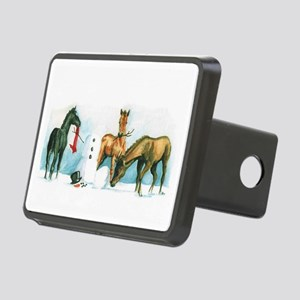 Snow Foals 2008 Rectangular Hitch Cover
