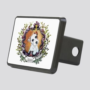 Vintage Jack Russell Terrier Rectangular Hitch Cov