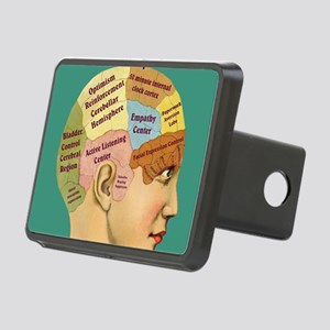 Inside a Therapists Brain Rectangular Hitch Cover