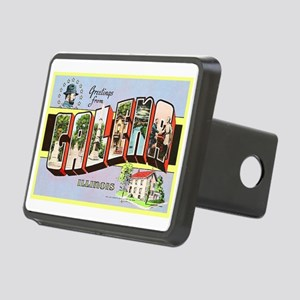 Galena Illinois Greetings Rectangular Hitch Cover