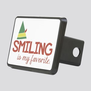 Smiling is my favorite Rectangular Hitch Cover