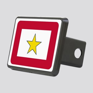 Gold Star Flag Hitch Cover