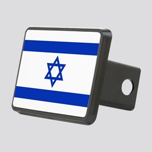 Flag of Israel, the Star o Rectangular Hitch Cover