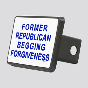 Former Republican Rectangular Hitch Cover