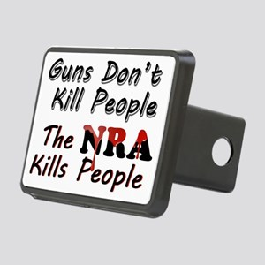 The NRA Kills People Rectangular Hitch Cover