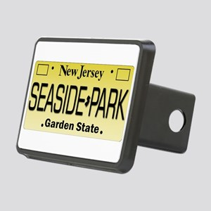 Seaside Park NJ Tag Giftwa Rectangular Hitch Cover