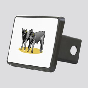 Black Angus Calves Hitch Cover