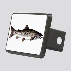 Trout Fish Rectangular Hitch Cover