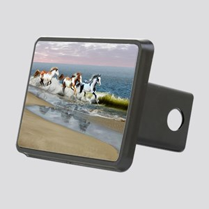 Painted Ocean Rectangular Hitch Cover