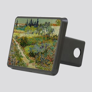 Garden at Arles - Van Gogh Rectangular Hitch Cover