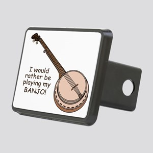 banjotshirt Rectangular Hitch Cover