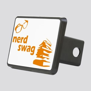nerd swag3 Rectangular Hitch Cover