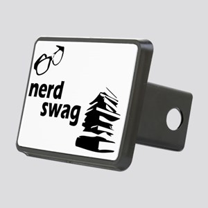 nerd swag Rectangular Hitch Cover