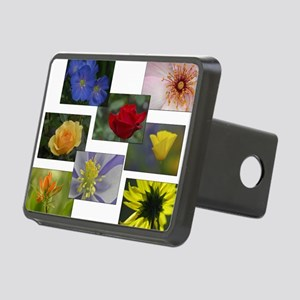Flower Collage 2 Rectangular Hitch Cover