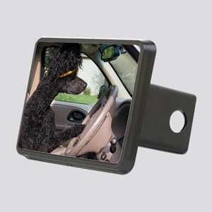 Bella driving cp cards Rectangular Hitch Cover