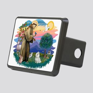 St.Francis #2/ Maltese #7 Rectangular Hitch Cover