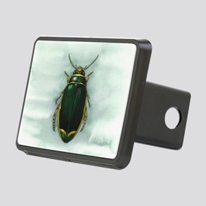 Great diving beetle, artwo Rectangular Hitch Cover