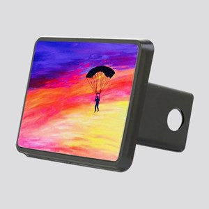 Into The Sunset Rectangular Hitch Cover