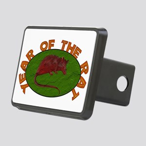 Year Of The Rat Rectangular Hitch Cover