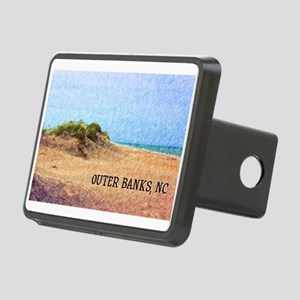 Outer Banks NC Beach Dune Rectangular Hitch Cover