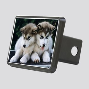 The Huskies Rectangular Hitch Cover
