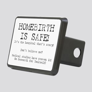 Homebirth is Safe Rectangular Hitch Cover