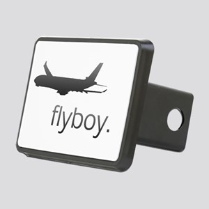 Flyboy Airline Pilot Rectangular Hitch Coverle)