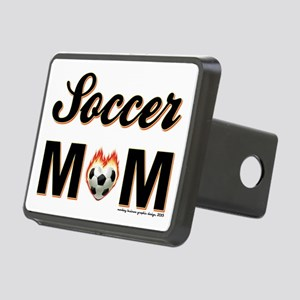 SOCCER MOM Rectangular Hitch Cover