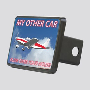 My Other Car- Piper Rectangular Hitch Cover