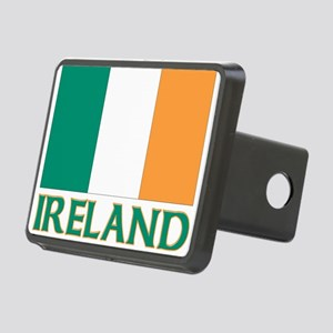 Irish flag Rectangular Hitch Cover