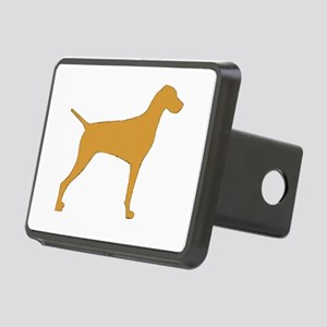 vizsla silhouette color Hitch Cover