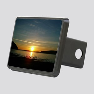 sunset2 Rectangular Hitch Cover