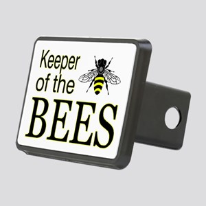 keeping bees Rectangular Hitch Cover