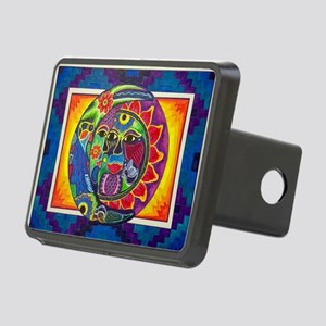 Aztec Sun and Moon Rectangular Hitch Cover