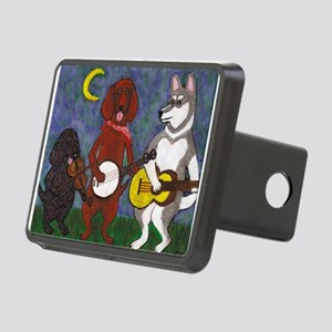 Country Dogs Rectangular Hitch Cover