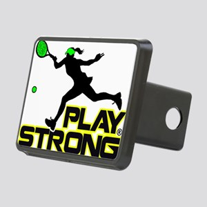 Play Strong Tennis Rectangular Hitch Cover